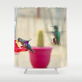Dinner Party Shower Curtain