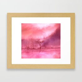 A Forest of Dying Love Framed Art Print