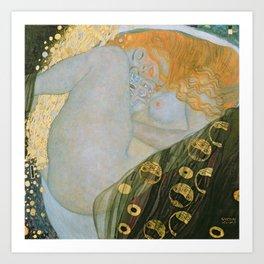 Danae, Gustav Klimt Art Print