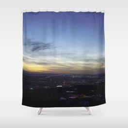 Boise Sunset Shower Curtain