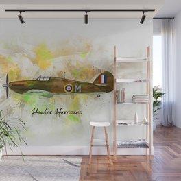 Hawker Hurricane Wall Mural