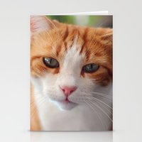 "garfield Stationery Cards featuring Garfield - a red cat by Michele ""Sonik"" Bruseghin"