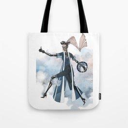 Blue New York City Tote Bag
