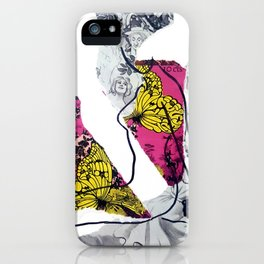 Butterflies in the Meadow IV iPhone Case