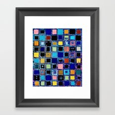 living in a box (global) 2. version Framed Art Print