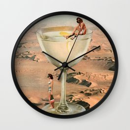 Dry Martini Wall Clock