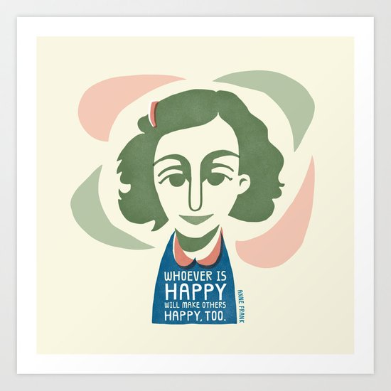 Make Others Happy, Too. Art Print