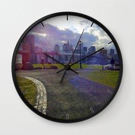 Brooklyn Look Wall Clock