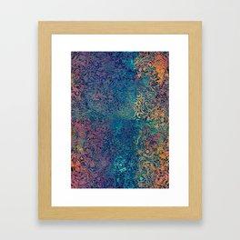 magic mandala 45 #magic #mandala #decor Framed Art Print