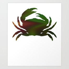Crab 387 Art Print