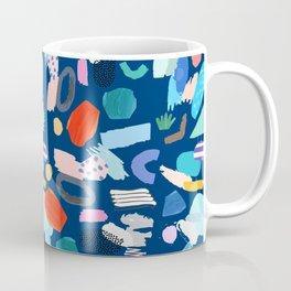 """Save The Earth"" Colourful Contemporary Art Coffee Mug"