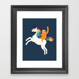 Magic Time Framed Art Print