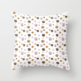 SQUARE PETS Throw Pillow