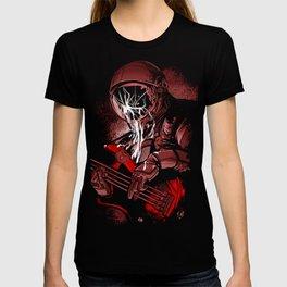 astronaut bass T-shirt