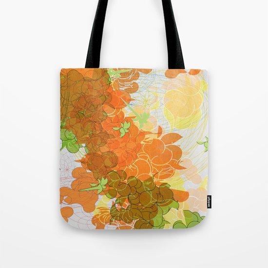 vegetal growth Tote Bag