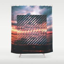 Sunset Leanin' Shower Curtain