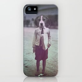 Beagle Boy iPhone Case