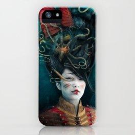 Queen of the Wild Frontier iPhone Case
