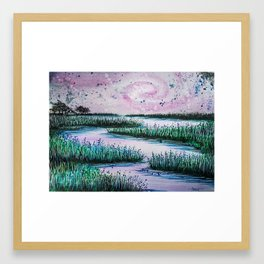 Galaxy Creek Framed Art Print