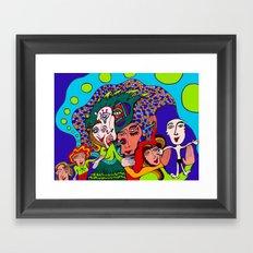 Baby is Born Framed Art Print