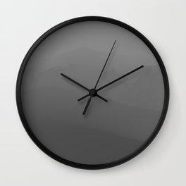 Mountainscape Wall Clock