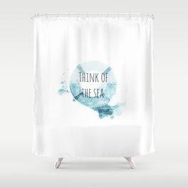 lifebuoy Shower Curtain