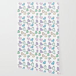sock pattern Wallpaper