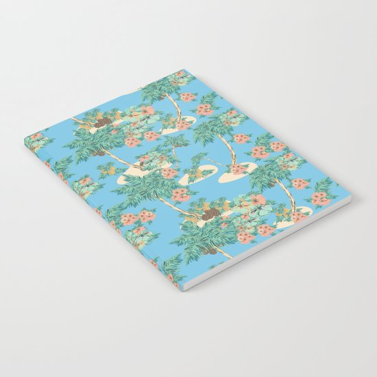 Aloha blue Notebook