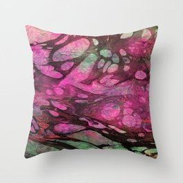 The Painter's Brush :: Full Corruption Throw Pillow