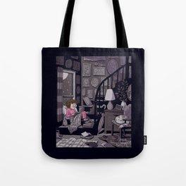 Midnight Reader Tote Bag