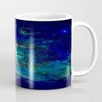 versace Mugs featuring Versace Nebula  by RickyRicardo787