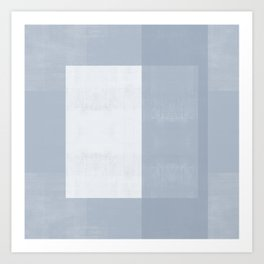 Case Study. No. 37 | Blue + White Art Print