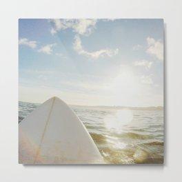 Surfboard Metal Print