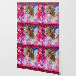 Abstract Owl   #society6 #decor #buyart Wallpaper