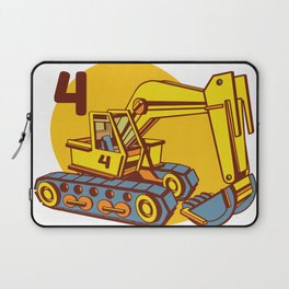 backhoe four  Laptop Sleeve