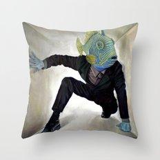 Superfish Throw Pillow