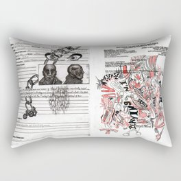 Devil's Advocate Rectangular Pillow