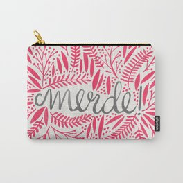 Pardon My French – Pink Carry-All Pouch