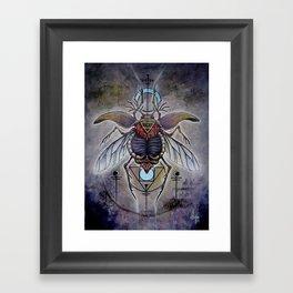 'Terra Elementorum' Framed Art Print