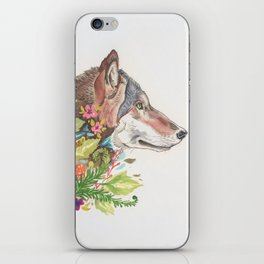 Forest Wolf iPhone Skin