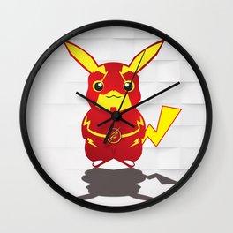 Super Pikaflash Wall Clock