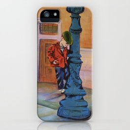 Singing in the rain, the early years iPhone Case