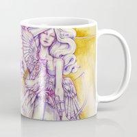 archer Mugs featuring Lion's Archer by Zien-Art