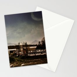 Mankind and the Mountains Stationery Cards