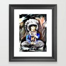 Red Cloud Framed Art Print