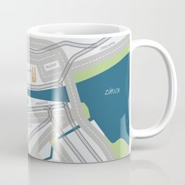 The Streets of Zurich Coffee Mug