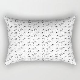 Teen Wolf - Initial Pattern Rectangular Pillow