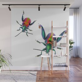 Frog-legged Pair Wall Mural