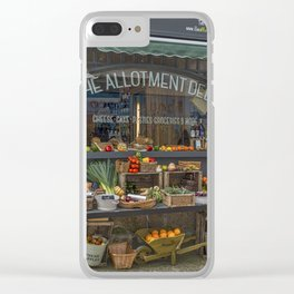 The Deli. Clear iPhone Case