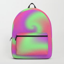 Tutti Frutti Ribbon Candy Fractal Backpack